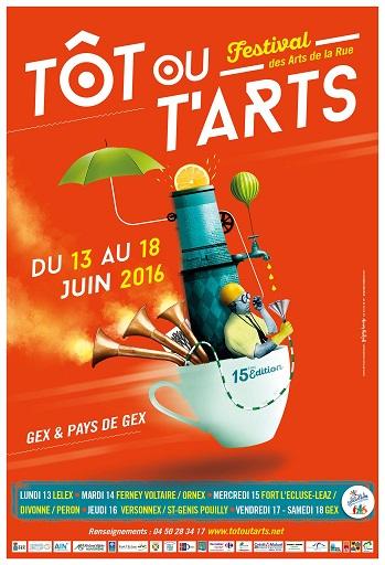 © 2016 Festival Tôt ou t'Arts, Pays de Gex (France)