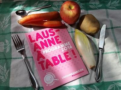 © 2016 Lausanne à Table