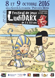 © 2016 Festival LudiDARX
