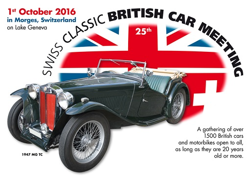 2002-2016 © Swiss Classic British Car Meeting Morges