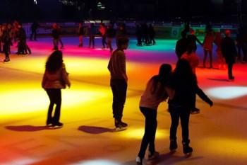 Disco sur glace Patinoire des Vernets © Ville de Genève