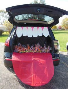 Trunk-or-treat on Pintrest!