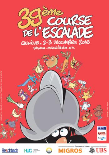 © 2016 Course de l'Escalade, Geneva