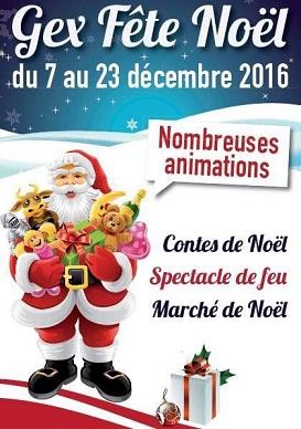 © 2016 Gex Fête Noël