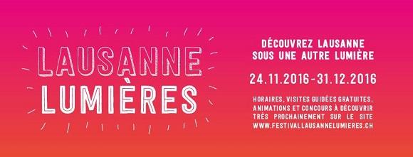 © 2016 Festival Lausanne Lumières