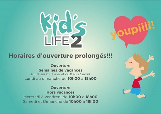 © 2017 Kid's Life 2 at iLife in Etoy