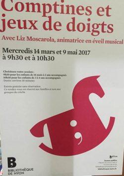 © 2017 Bibliothèque de Nyon Jeunes publics