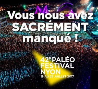 © 2017 Paléo Festival Nyon