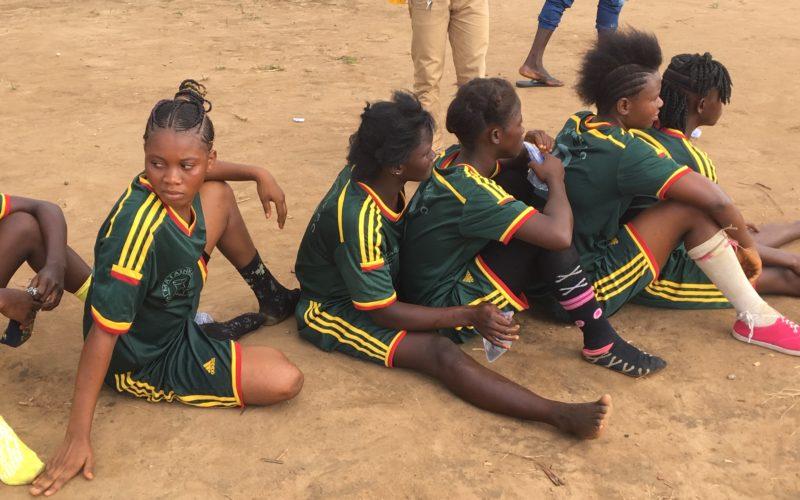 Reboot2Kids girls football team